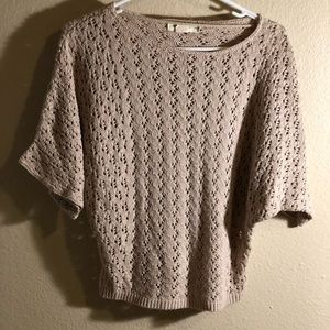 Staring At Stars (UO) Scoop Neck Open-Knit sweater